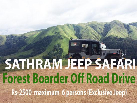 6A-Forest Boarder -Off Road-  Jeep Safari(6 person )