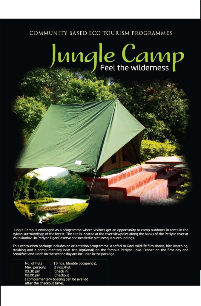 5A.Jungle Camp 1 Night 2 Day ( check in 2.30PM and 12.00 noon Check Out)