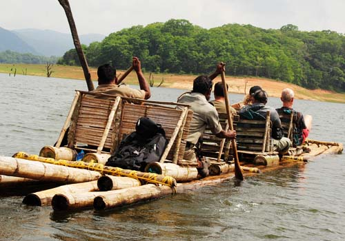 10A.Bamboo Rafting - Dawn to dusk Range Hiking-Half Day ( 7.30 AM and 9.30 AM Every day)