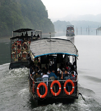DD-Boating in Periyar Lake + Elephant Safari (Rs-1000/Person)